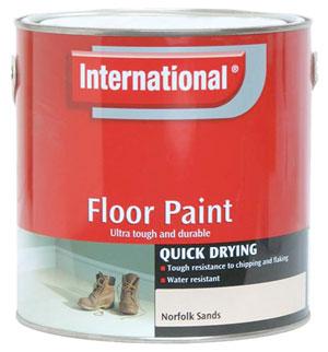 International Quick Drying Floor Paint 2 5 Ltr Durable