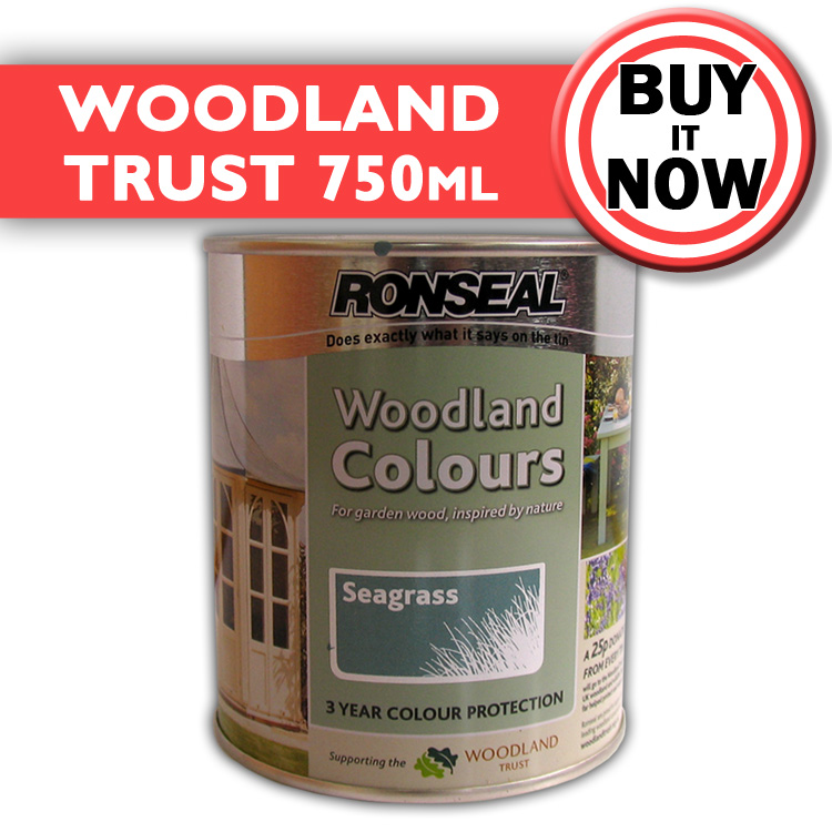 Ronseal Exterior Wood Paint Woodland Trust Garden Wood Paint 12 Colours Ebay