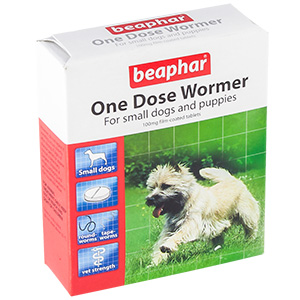 Beaphar One Dose Wormer For Small Dogs And Puppies